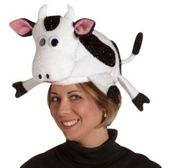Adult Cow Hat