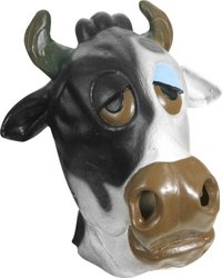 Adult's Cow Costume Mask
