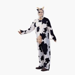Cow Costume Unisex Adult Standard