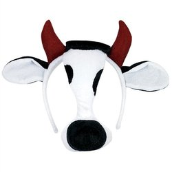 Cow Kids Mask