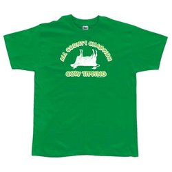 Cow Tipping Team T-Shirt