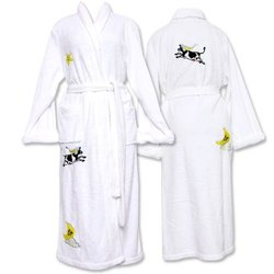 Frankie & Johnny Cow Over Moon Cashmiracle Robe