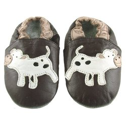 Ministar Baby Shoe - Chocolate Cow