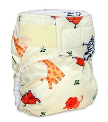 Mommy's Touch One-Size Easy-Clean TouchTape Pocket Diaper w/ Free 3 layer insert
