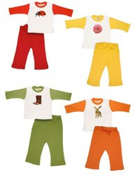 Positively Organic - Junior Varsity Outfit Baby Gift Set