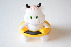 Cow Baby Bath Thermometer