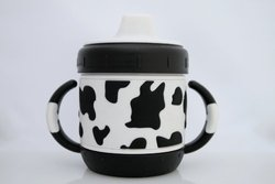 ID Gear Sippy Cup, Cow Pattern