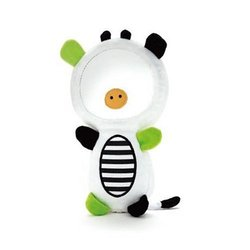 Skip Hop Squeak and Rattle Funny Face Cow Mirror