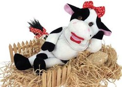 'Bessy Mae' Animated Cow Figure