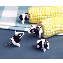 Animal Corn Holder - Cow