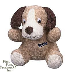 Booda Terry Cow Plush Dog Toy