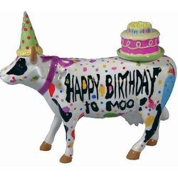 Cow Parade Happy Birthday to Moo!