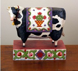 Large Cow Decor Accessory