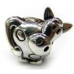 Authentic Biagi Silly Cow Bead - Fully Compatible with Pandora, Chamilia, Troll