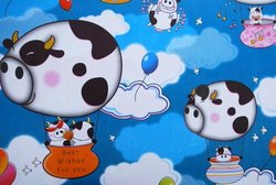 Gift Wrapping Paper - 'Best Wishes' Cows
