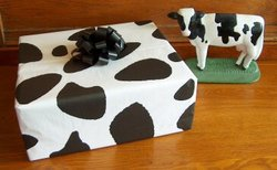 Holstein Cow Tissue Wrapping Paper