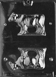 3D COW Animal Candy Mold Chocolate