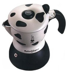 Bialetti 'Cow' Mukka Express 2 Cup Stove Top Cappuccino Maker 06989