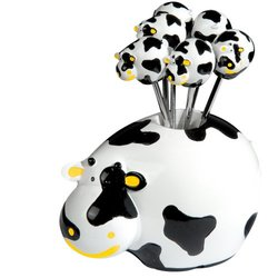 Boska Holland Cow Party Serving Set