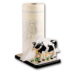 COW 3-D Paper Towel & Napkin Holder *NEW!*