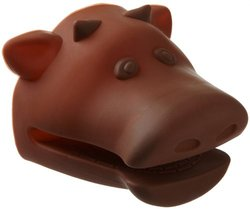 Cooks Corner Silicone Pot Holder, Brown Cow
