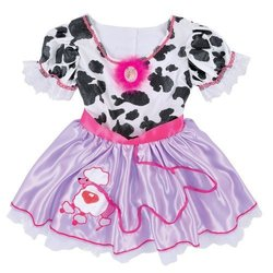 Creative Designs Fancy Nancy Cow Dress Costume