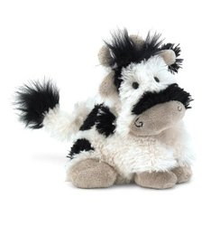 Jellycat Tiny Truffles Friesian Cow Black White 5'