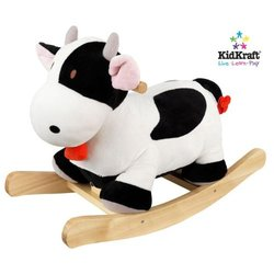 KidKraft Cow Plush Musical Rocker