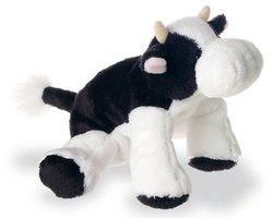 Mary Meyer Yakety Yaks, Black and White Yakety Nell Cow, 8'