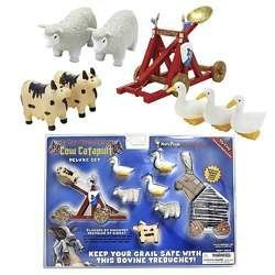 Monty Python Cow Catapult Deluxe Set