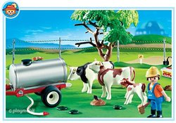 Playmobil Cow Pasture