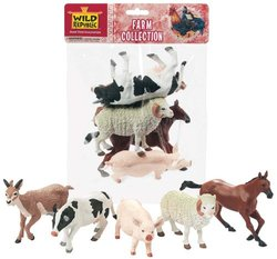 Polybag Farm Collection (pig, ram, horse, cow, deer)