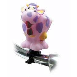 Pyramid Bicycle Squeeze Horn Pink Cow