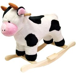Trademark Cow Plush Rocking Animal
