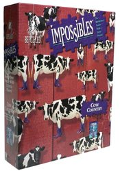 University Game Impossibles Cow Country Puzzle